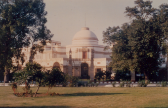 Photograph 9 – Jaipur House from the great Hexagon