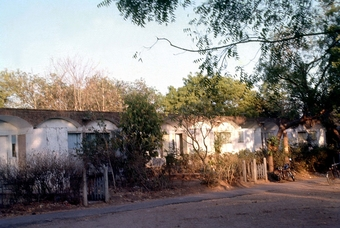 ATIRA Staff Quarters photographed in 1980s