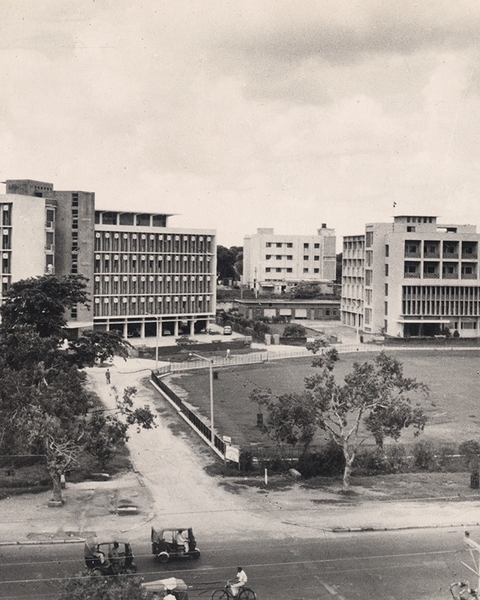 Left: University Grants Commission, 1954, Right: Comptroller and Auditor General, 1958.