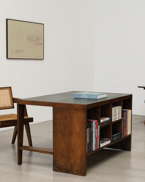 Chandigarh pieces at Galerie Patrick Seguin