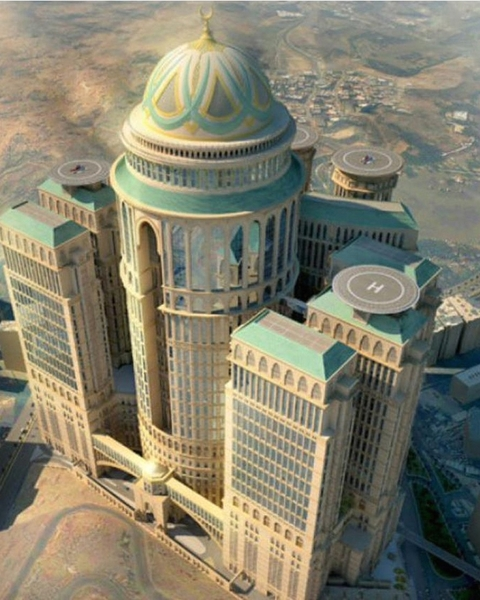 Abraj Kudai is to become the world's largest hotel located in Makkah, Saudi Arabia and upon completion, will offer 10,000 rooms in 12 separate towers. Designed by Dar Al Handasah, the project has a total built area of 1.4m m2