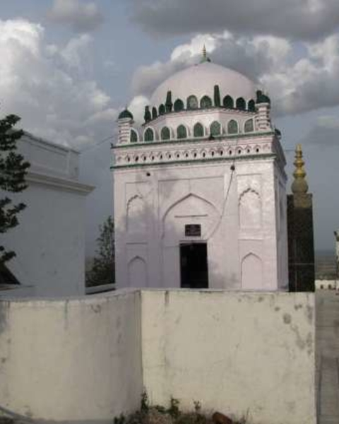 The British-era wooden made 'Baba Jee'mosquebuilt in 1899,Situated in the heart ofTimergaraCity in LowerDirdistrict.