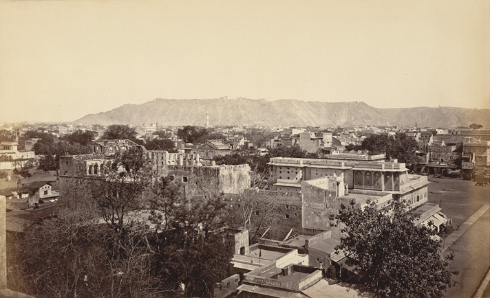 Jaypur, from the Sanganer Gate