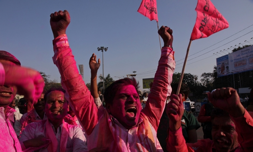 Celebrations mark the creation India's 29th state, Telangana - requiring a new state capital for the remainder of old Andrha Pradesh.