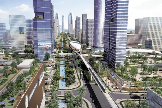 The Natural City plan for the new Andhra Pradesh capital earmarks green zones and envisages a distance of 7km or less for inter-city travel, without altering the size of the city.