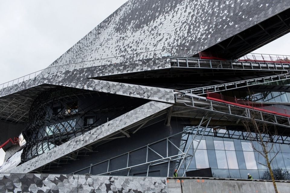 Construction of the Philharmonie de Paris, designed by Jean Nouvel, was mired in years of political wrangling, cost overruns and work stoppages.