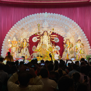 Durga Pooja at Powai