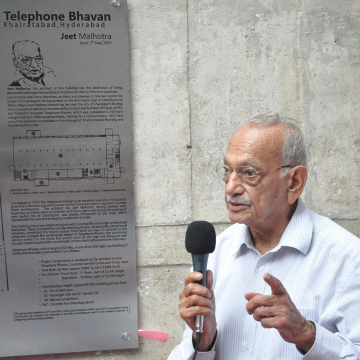 Architect Jeet Malhotra in June 2018